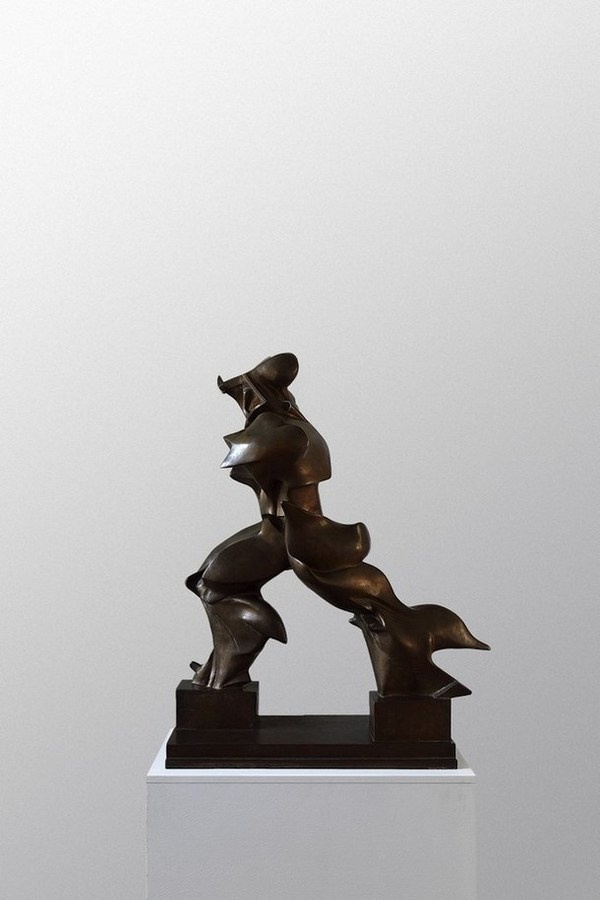 """Boccioni and his sculpture """"Unique forms of continuity"""" with Norman Foster as curator #exhibition #foster #curator #norman"""