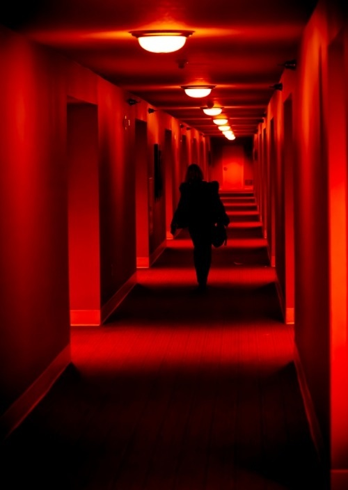 non existing excess #red #black #hall