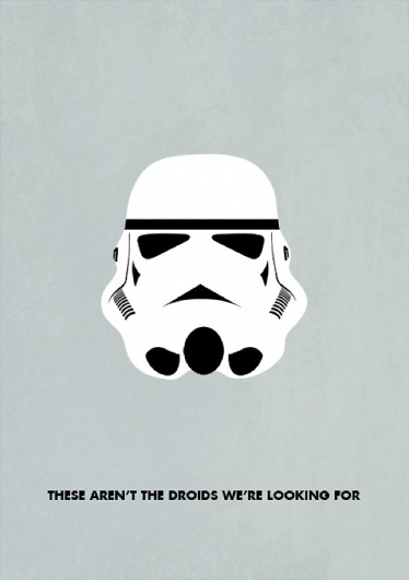 Bogan's Star Wars Minimalism | thaeger - blog this way #illustrations