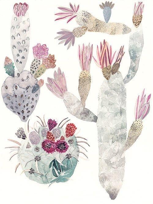 Painter Michelle Morin #plants #illustration #underwater #watercolour