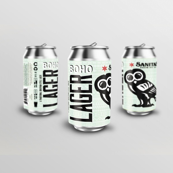 Sanitas Brewing Co. 2018 Beer Can Design