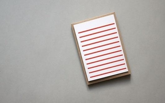 Red Stripetown Gift Card | Karte Design Fabrik #red #stripetown #fabrik #design #karte