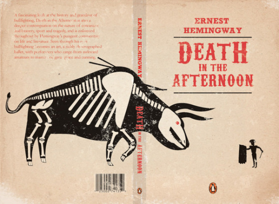 Death in the afternoon #skeleton #hemingway #book #cover #tuscan #bull