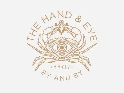 The Hand and Eye #illustrator #detailed