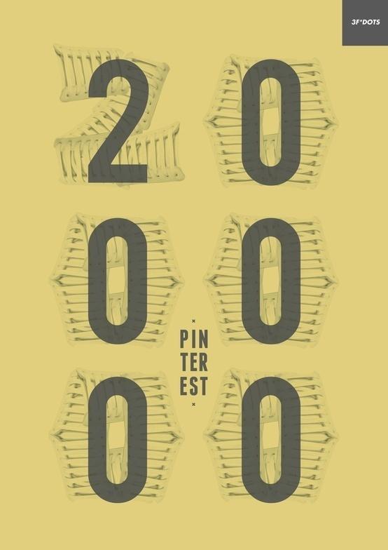 OVER 20.000 FOLLOWER ON PINTEREST!!! THANK YOU & KEEP ROLLIN'! #pinterest #20000 #design #poster #follower
