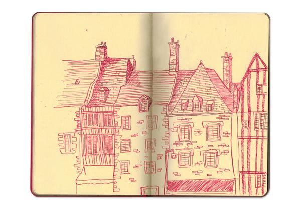 Cambridge Illustration - Katherine Costin #line #ink #sketchbook #illustration #drawing
