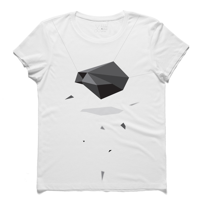 #juddi #white #tee #tshirt #brecht #rock #shadow #simplicity #polygon #gray #minimal