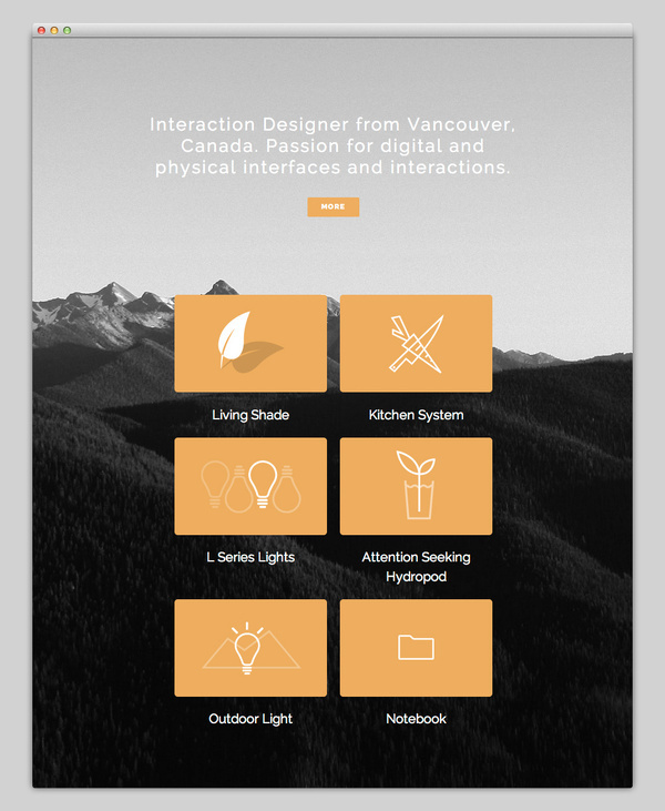 Kyle Thacker #website #layout #design #web