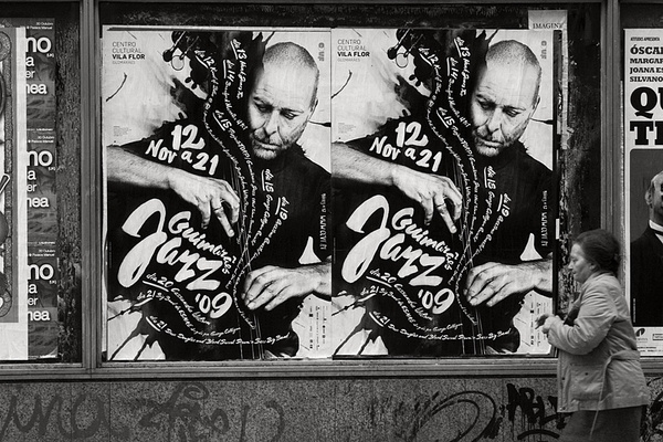 Guimarxc3xa3es JAZZ 2009 #photography #design #typography