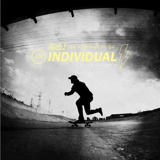 Designspiration on the Behance Network #mike #skateboarding #photography #vallely #typography