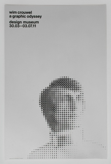 Spin — Wim Crouwel limited edition #spin #poster