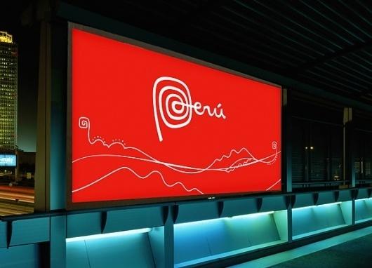 Peru's New Brand - Brand New #mark #type #logo
