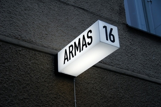 Armas on the Behance Network #sign #clever