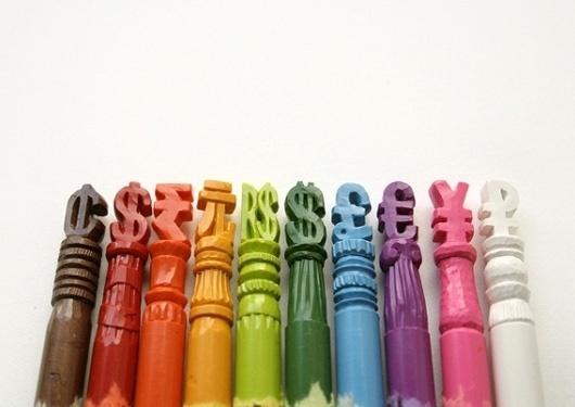Crayon Portrait Sculptures by Diem Chau #crayons #sculpture #art