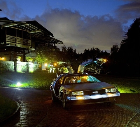 FFFFOUND! #the #future #back #80s #delorean #movies #car #to