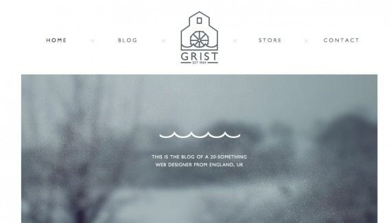 Colin Grist   Web design inspiration from siteInspire