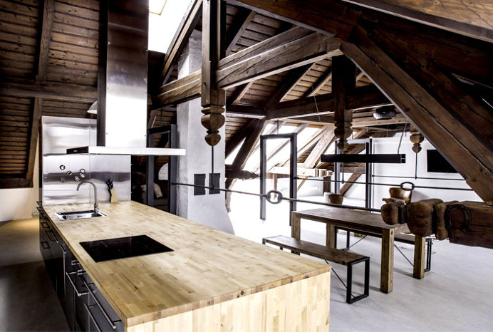 Studio Apartment Restoration by ORA Architects - #decor, #interior, #homedecor, home decor, interior design