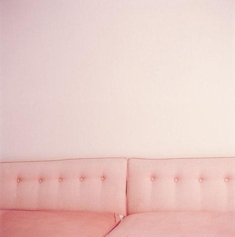 FFFFOUND! | Every reform movement has a lunatic fringe #pink #sofa