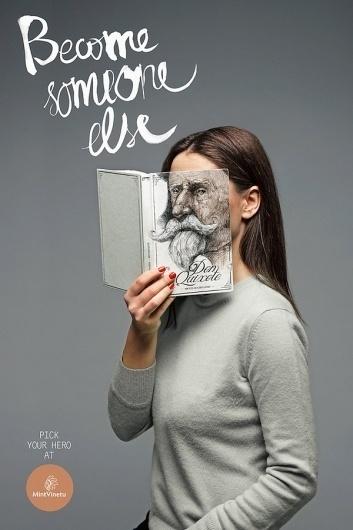 Creative Bookstore Ads - My Modern Metropolis #design #graphic #book
