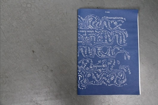 Konstfack School Paper : Maryam Fanni #print #design #graphic #publication