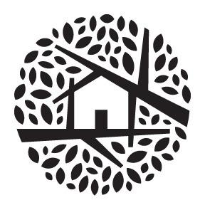 Natasha Foote Design & Illustration #house #natasha #leaf #foote #tree #illustration #logo