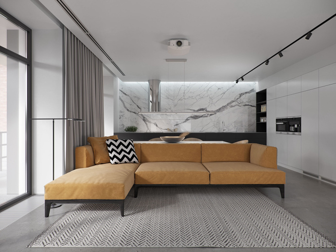 House R163 interior design minimal luxury beautiful new modern marble mindsparkle mag