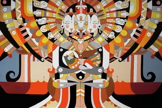 Fernando Chamarelli #illustration #shapes #art