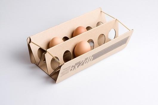 egg box on the Behance Network #packaging #design