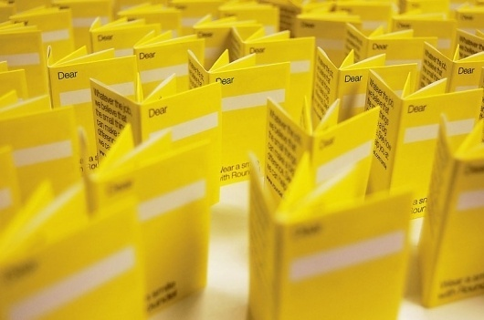 Graphic-ExchanGE - a selection of graphic projects #yellow #promo