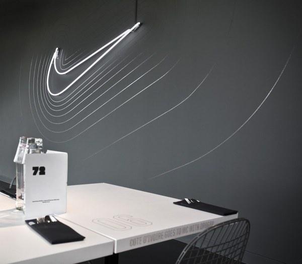 Cantine Nike / Uxus #nike #reactive #waves #space