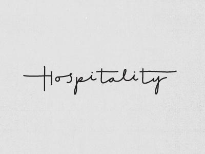 Hc_hospitality #lettering #typography
