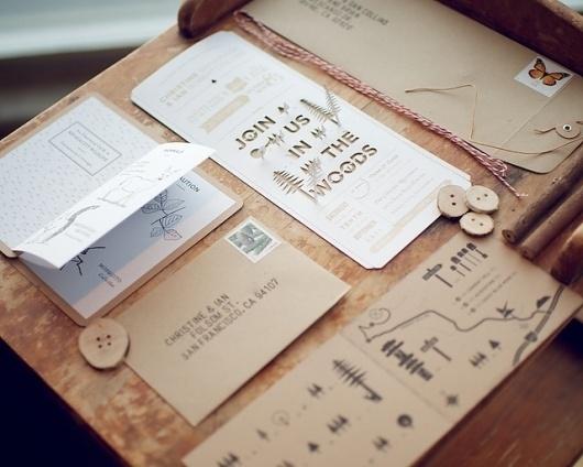Don't Ruin My Wedding | Invitations #forest #wood #print #invitations