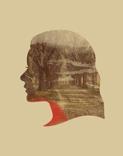 Mark Weaver #profile #woman #gig #poster #trees