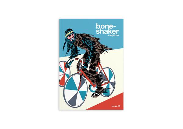 Boneshaker Issue 8 #bicycle #print #design #commuting #cycling #editorial #magazine
