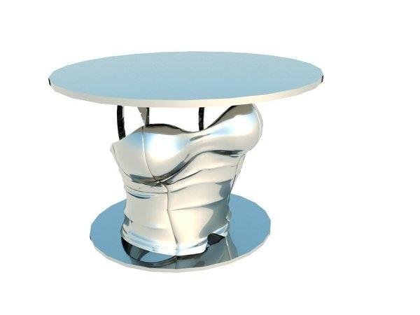 Corset Table #interior #creative #inspiration #amazing #modern #design #ideas #furniture #architecture #art #decoration #cool
