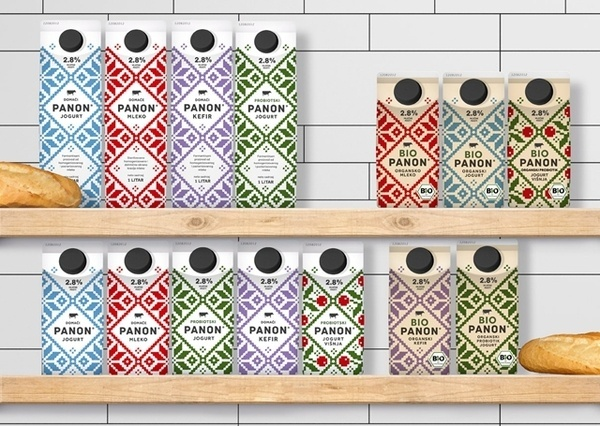 PANON Dairy #packaging