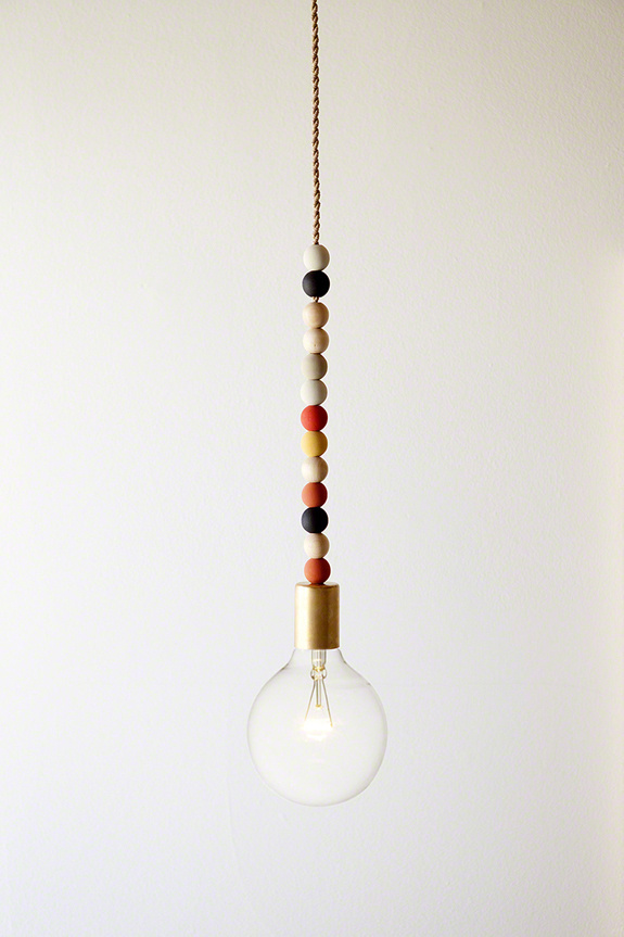 A CUP OF JO #lamp #flashbulb #bead