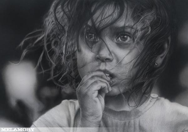 Pencil Art by Olga Melamory Larionova #olga #larionova #art #pencil #melamory