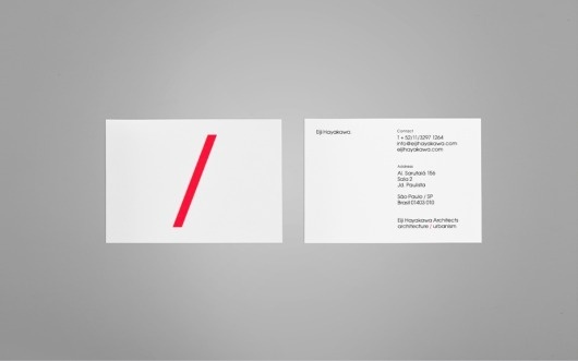 Anagrama | Eiji Hayakawa Architects #card #business