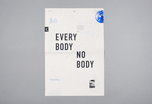 EVERYBODY / NOBODY Full Time/Part Time Design Studio #design #graphic