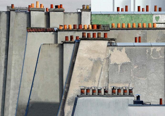 michael wolf: paris rooftops #paris