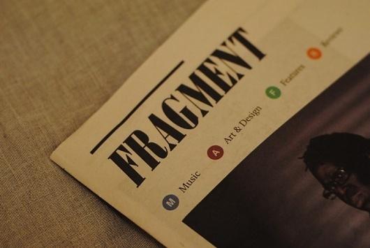 James Kirkups portfolio #print #fragment #newspaper #magazine