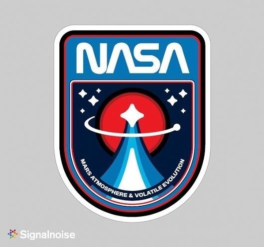 NASA mission patches on the Behance Network #illustration #branding