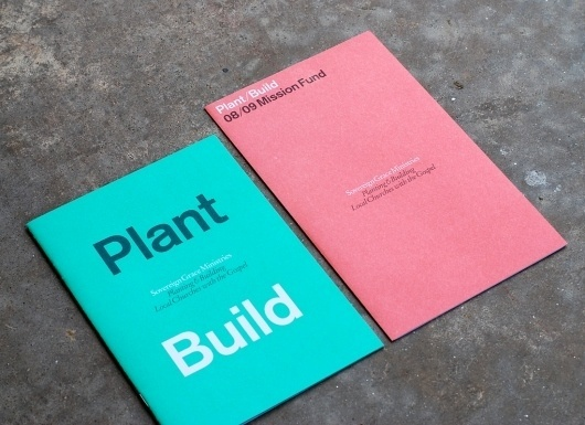 All sizes | Plant/Build | Flickr - Photo Sharing! #wahl #church #print #matt #matthew #booklet