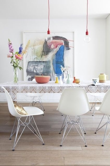 The Design Chaser: Interior Styling | Dining Table Lighting #interior #design #decor #deco #decoration
