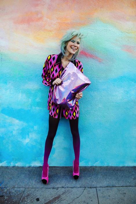 Britt Maren by Zoey Grossman #model #girl #tights #photography #gradient #fashion