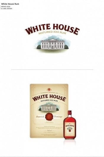 Not Just Logos (Part II) on the Behance Network #packaging #design #label #rum