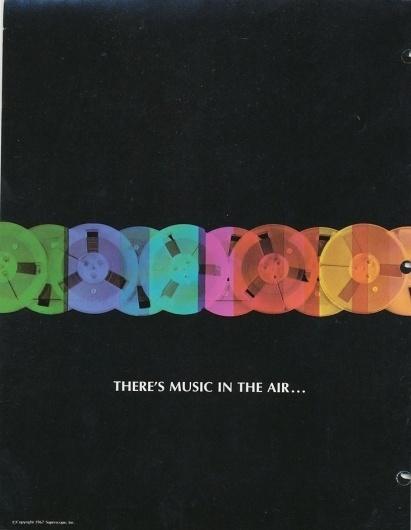 Monoscope #design #color #vintage #music #rainbow