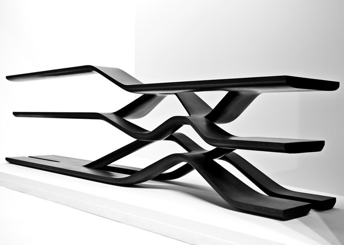 Tela Shelving by Zaha Hadid for CITCO #hadid #zaha