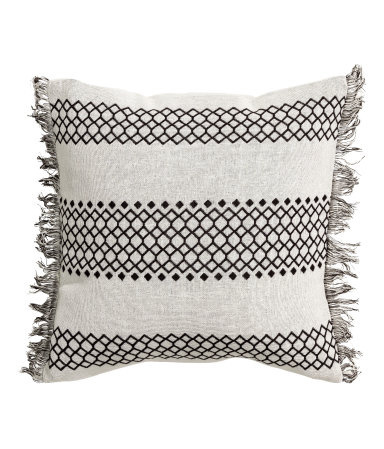 Pattern-weave Cushion Cover, H&M Home